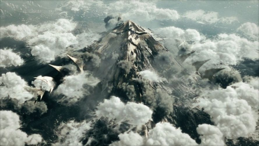 movies robots futuristic mecha CGI spaceships battles screens Planzet wallpaper