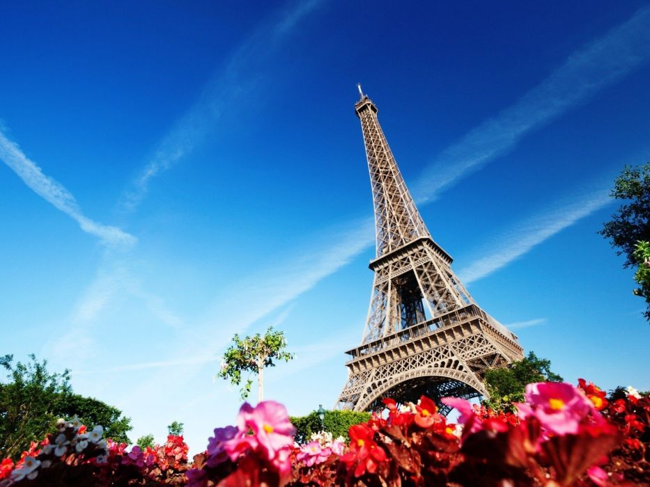 Eiffel Tower Paris France wallpaper