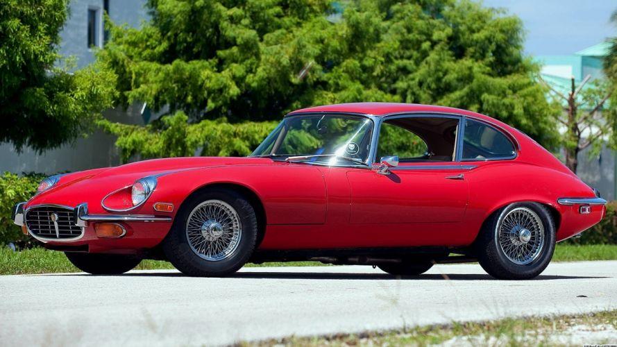 cars classic cars Jaguar E-Type Series II wallpaper