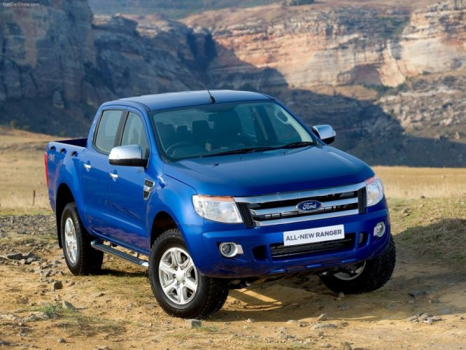 blue Ford 4x4 Ford Ranger auto wallpaper