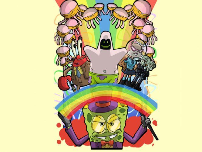 SpongeBob SquarePants alternative art wallpaper