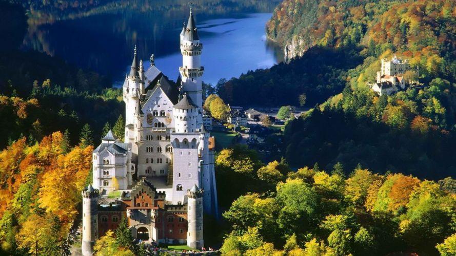 Germany Bavaria Neuschwanstein Castle wallpaper
