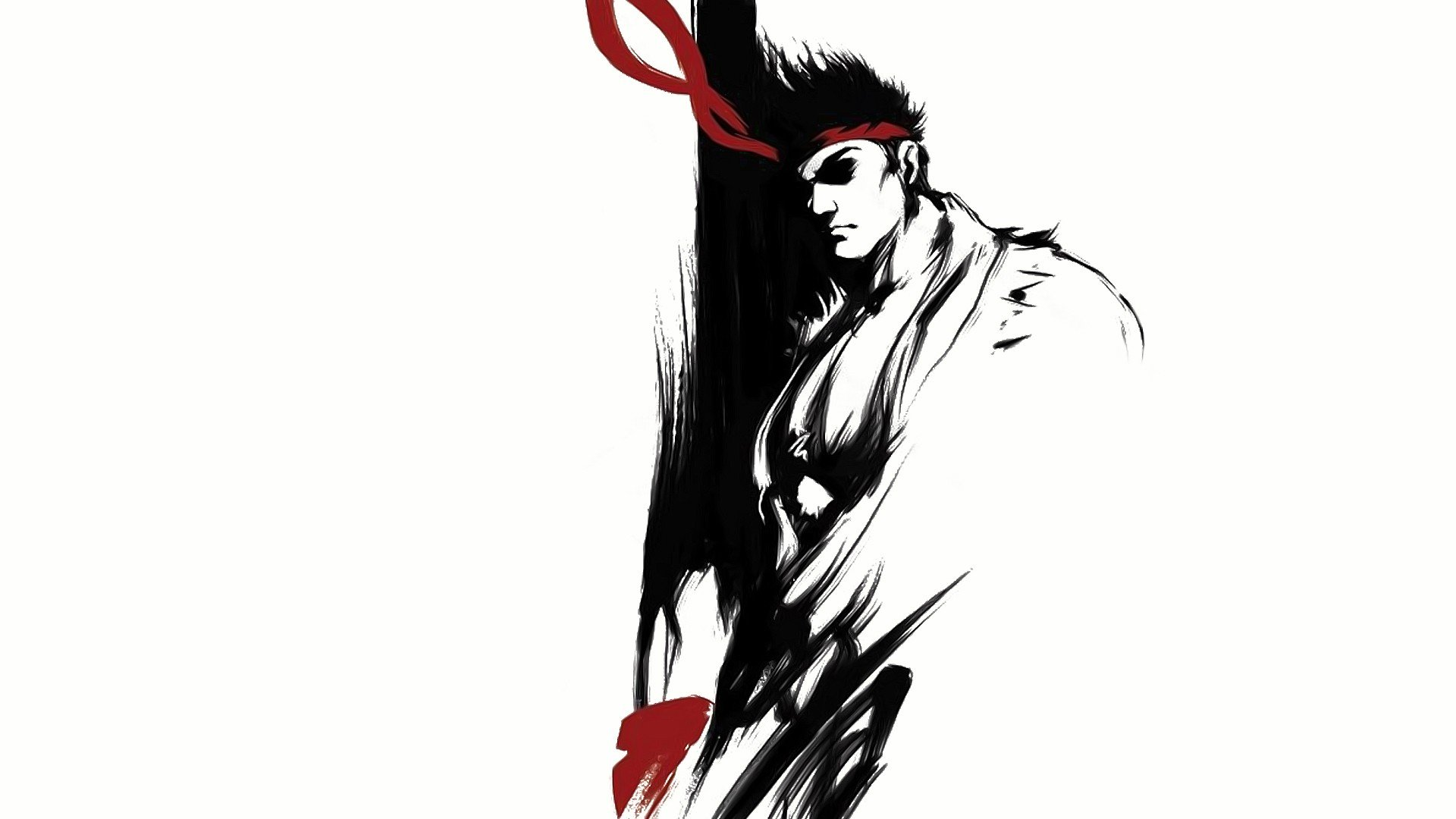 Video Games Street Fighter Men Ryu Fantasy Art Wallpaper