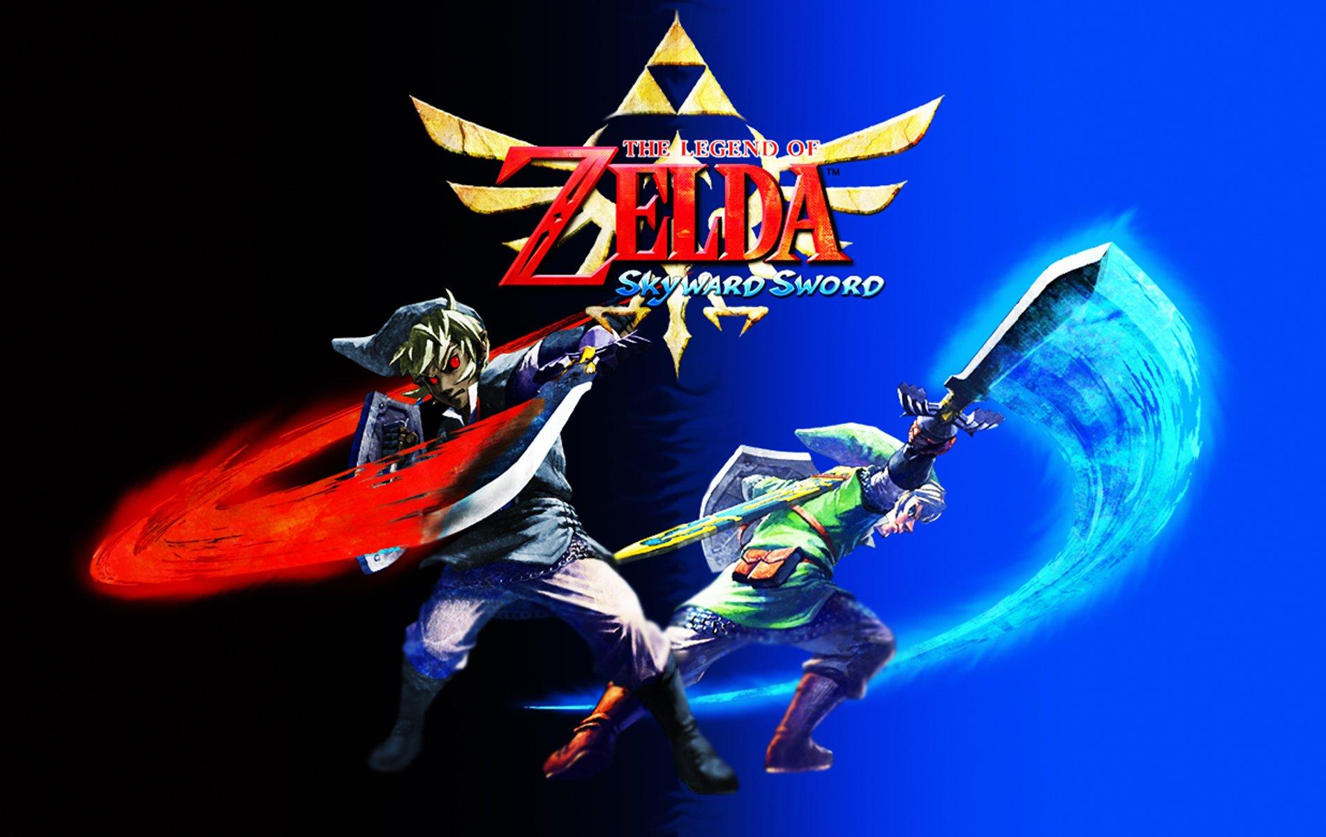 Link The Legend Of Zelda Skyward Sword Wallpaper 1900x1200