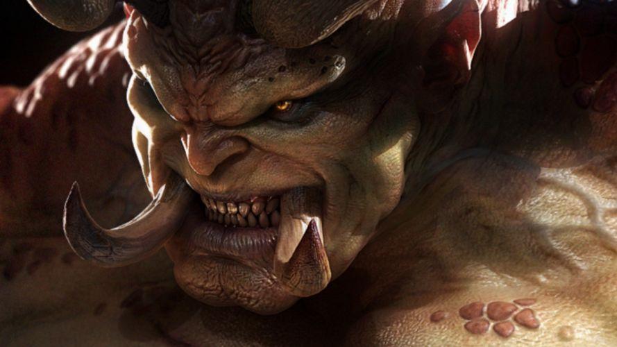 Diablo Diablo III The butcher wallpaper