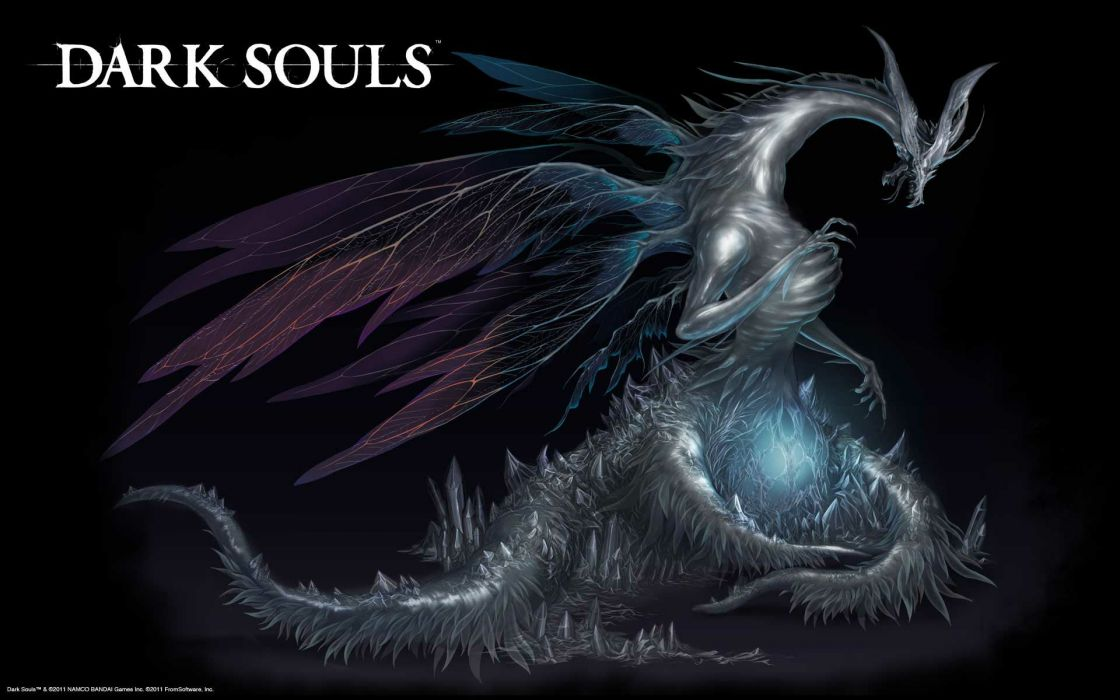 dragons Dark Souls wallpaper