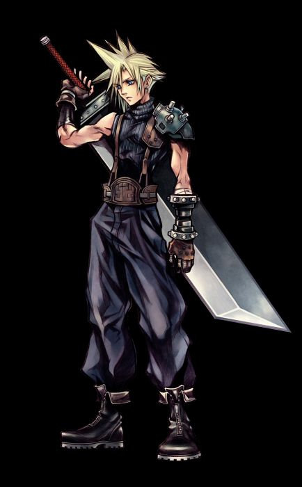 Final Fantasy Final Fantasy VII transparent Cloud Strife Dissidia Final Fantasy Nomura Tetsuya wallpaper