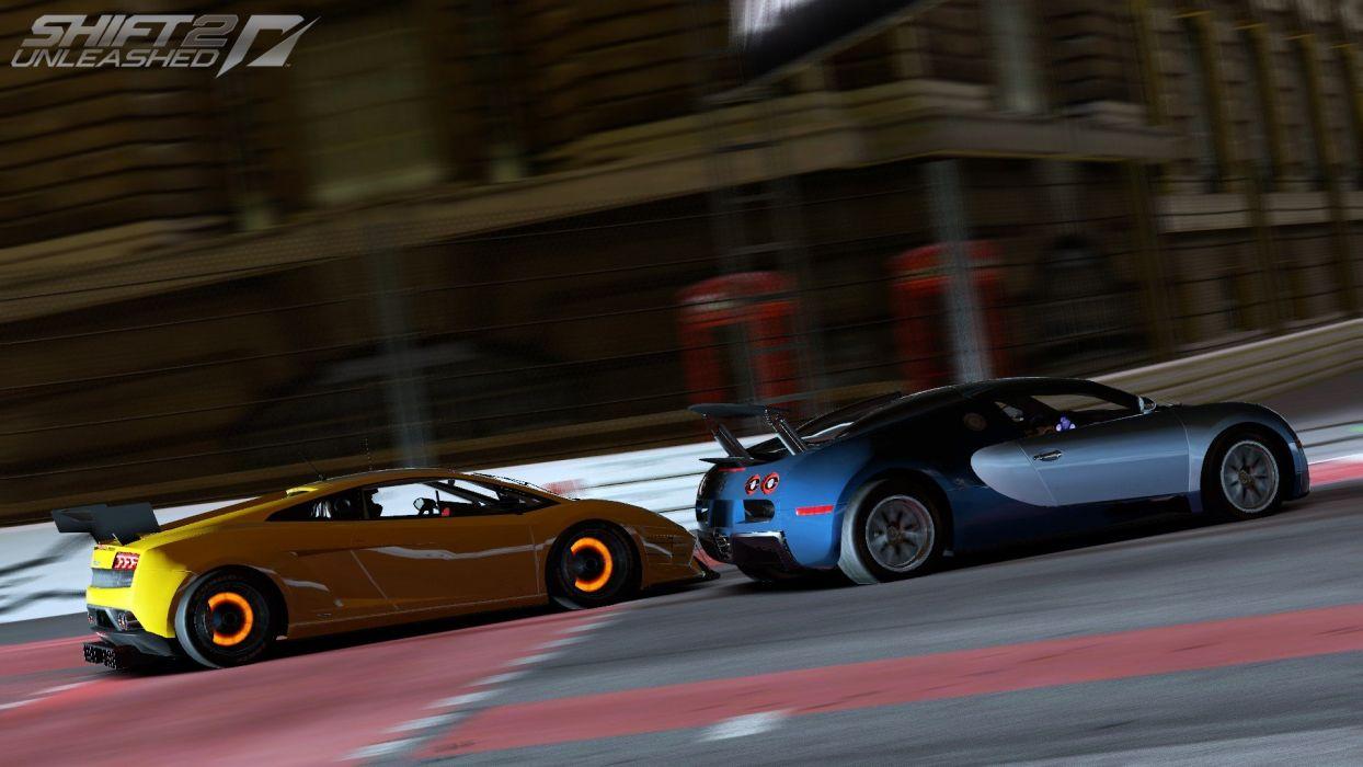 Video Games Cars Bugatti Veyron Lamborghini Gallardo Need For Speed