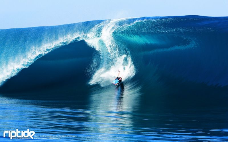 waves surfers wallpaper