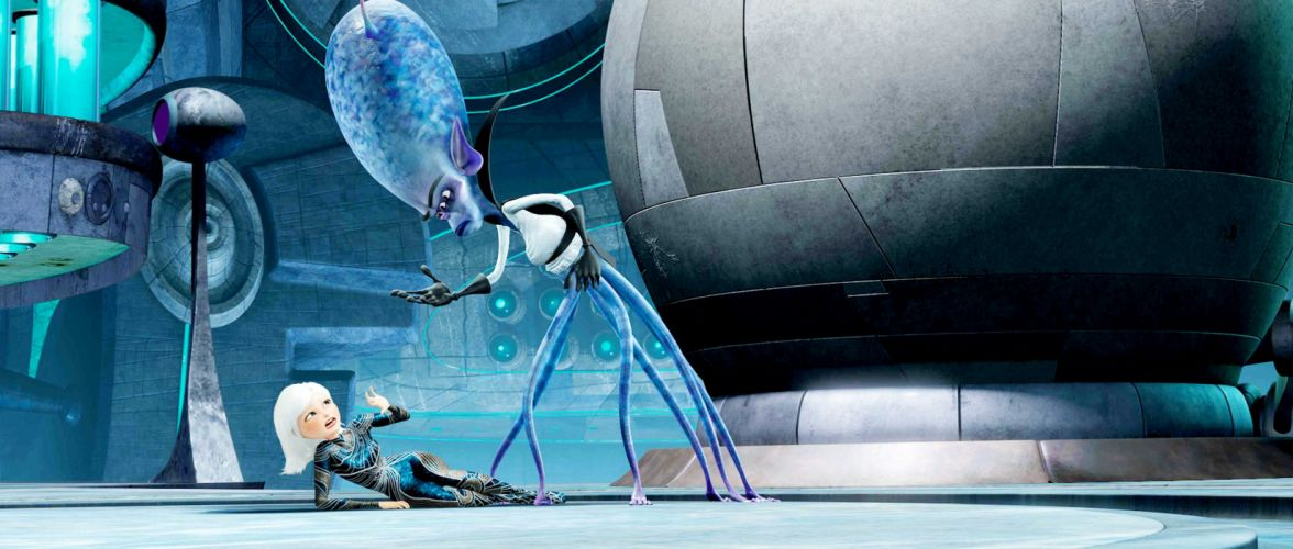 MONSTERS-VS-ALIENS cartoon animation sci-fi monsters aliens monster alien film movie (12) wallpaper