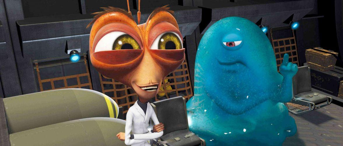 MONSTERS-VS-ALIENS cartoon animation sci-fi monsters aliens monster alien film movie (29) wallpaper