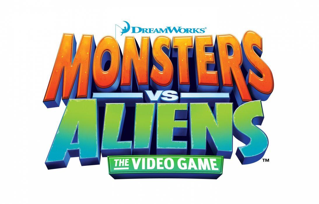 MONSTERS-VS-ALIENS cartoon animation sci-fi monsters aliens monster alien film movie (47) wallpaper