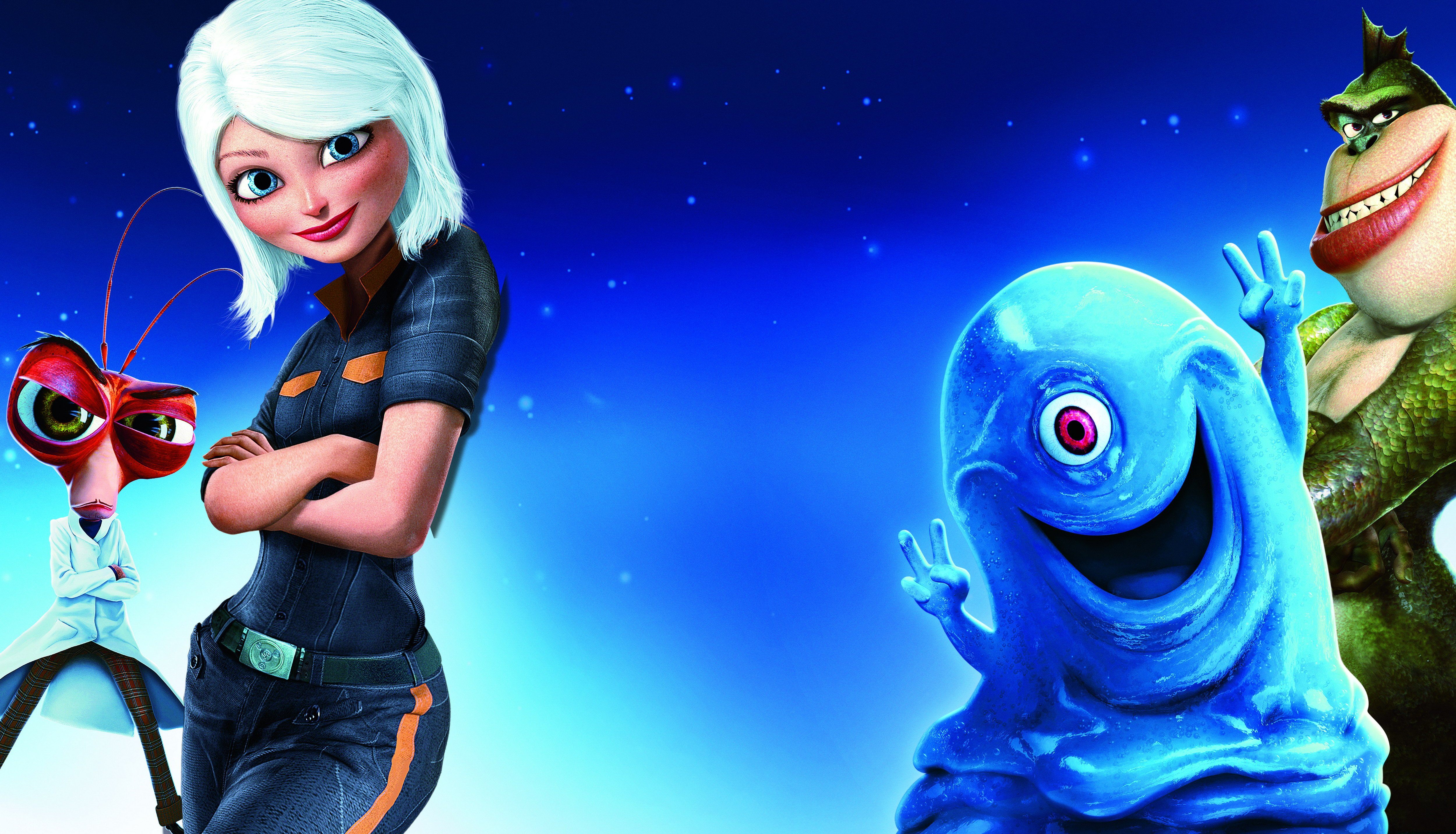 Photo Collection Monsters Vs Aliens The Series Wallpaper