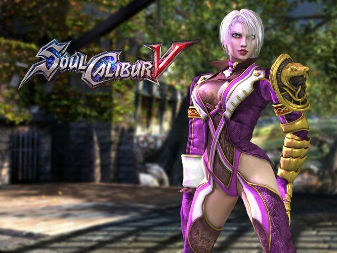SOUL CALIBUR fantasy warrior game anime (6) wallpaper