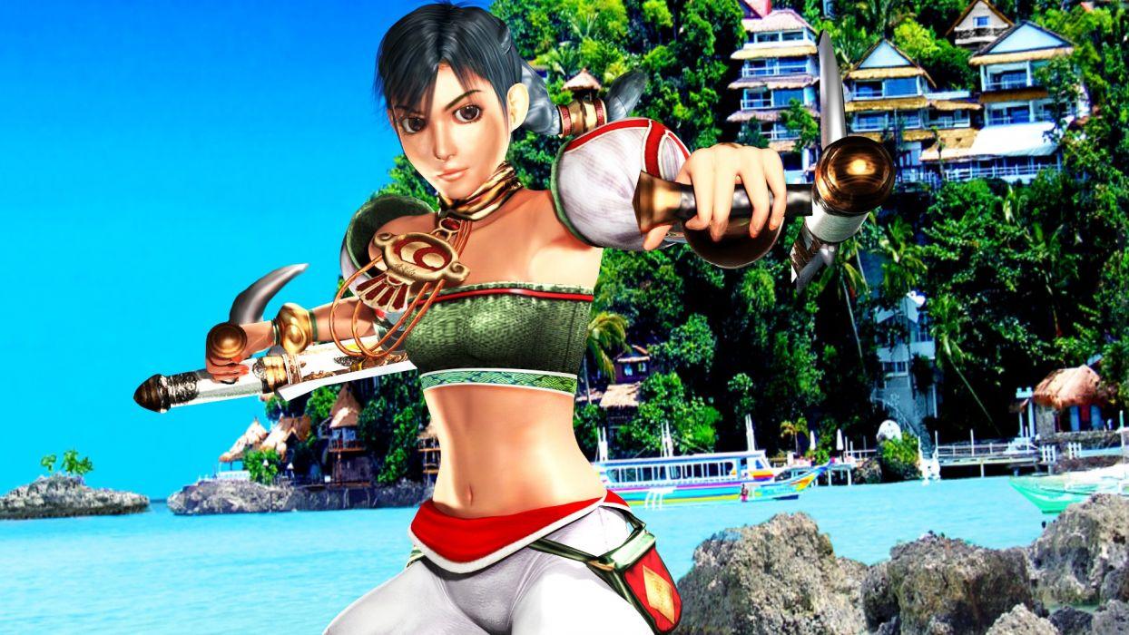 SOUL CALIBUR fantasy warrior game anime (1) wallpaper
