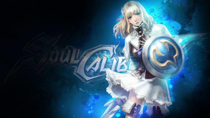 SOUL CALIBUR fantasy warrior game anime (24) wallpaper