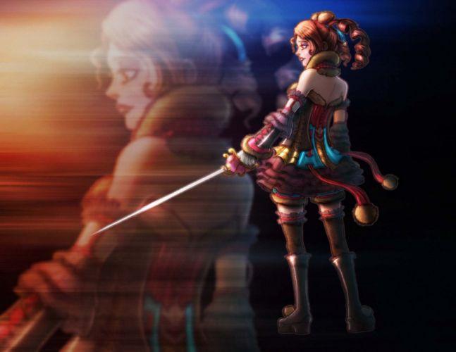 SOUL CALIBUR fantasy warrior game anime (20) wallpaper