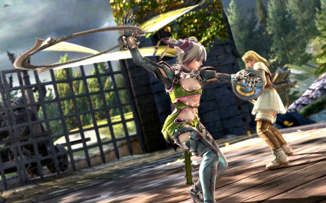 SOUL CALIBUR fantasy warrior game anime (16) wallpaper
