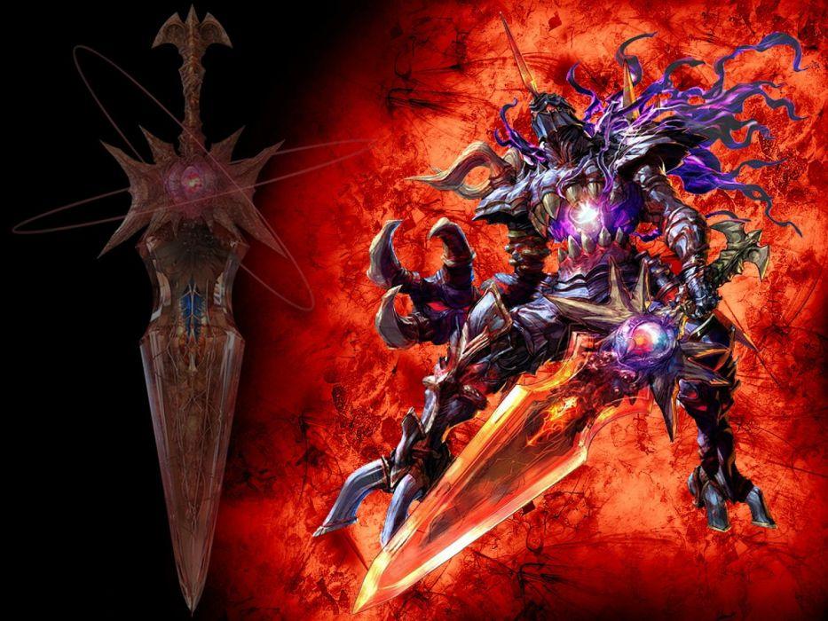 SOUL CALIBUR fantasy warrior game anime (35) wallpaper