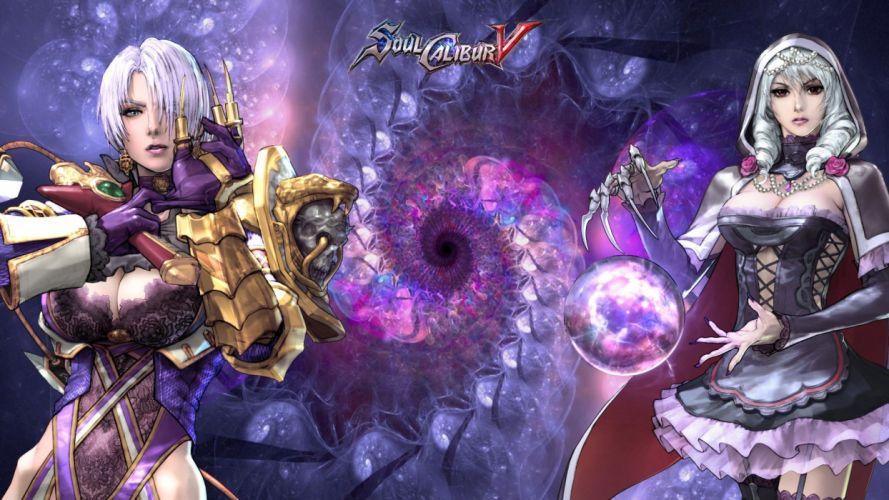 SOUL CALIBUR fantasy warrior game anime (37) wallpaper