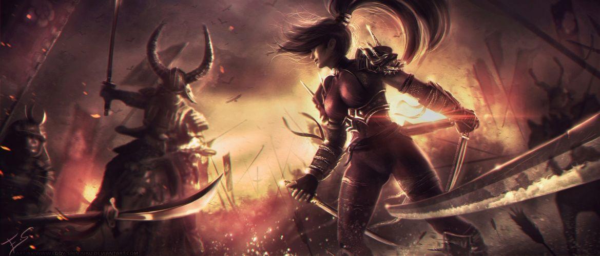 SOUL CALIBUR fantasy warrior game anime (61) wallpaper
