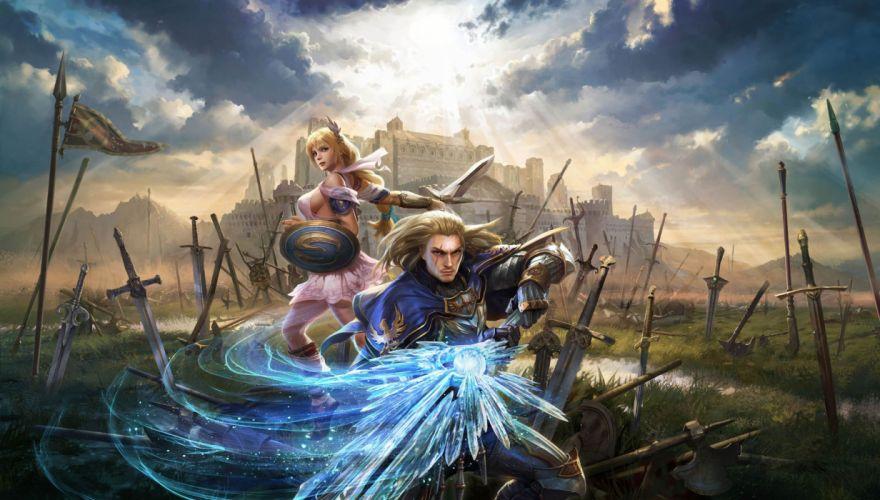 SOUL CALIBUR fantasy warrior game anime (72) wallpaper