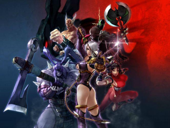SOUL CALIBUR fantasy warrior game anime (86) wallpaper
