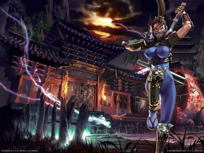 SOUL CALIBUR fantasy warrior game anime (78) wallpaper
