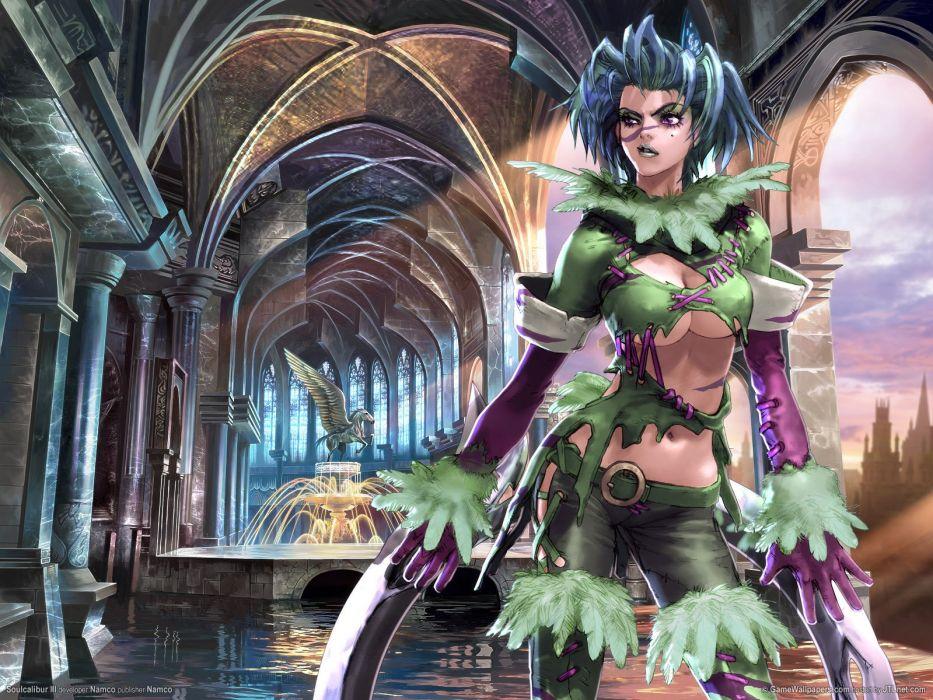 SOUL CALIBUR fantasy warrior game anime (77) wallpaper