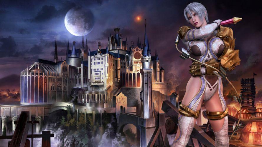 SOUL CALIBUR fantasy warrior game anime (30) wallpaper