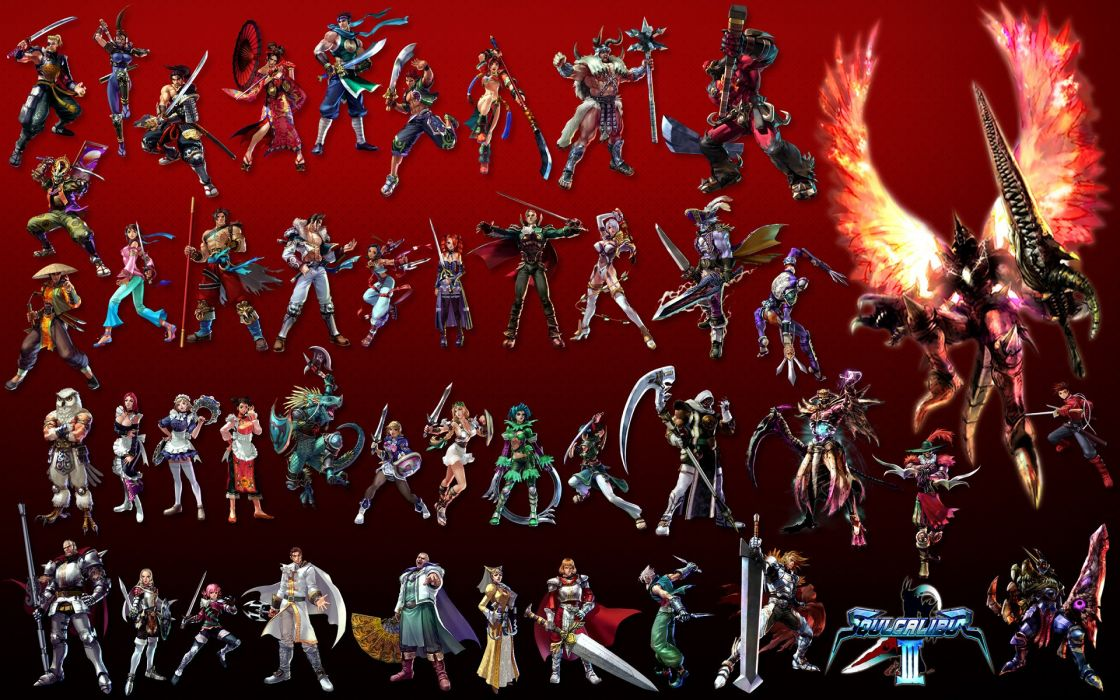 SOUL CALIBUR fantasy warrior game anime (27) wallpaper