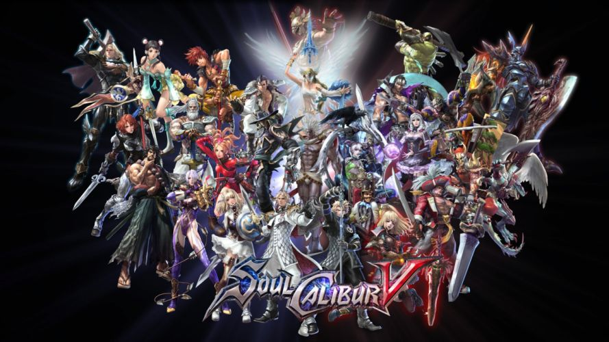 SOUL CALIBUR fantasy warrior game anime (69) wallpaper