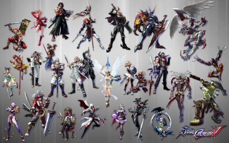 SOUL CALIBUR fantasy warrior game anime (68) wallpaper