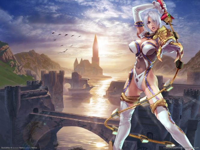 SOUL CALIBUR fantasy warrior game anime (61) wallpaper