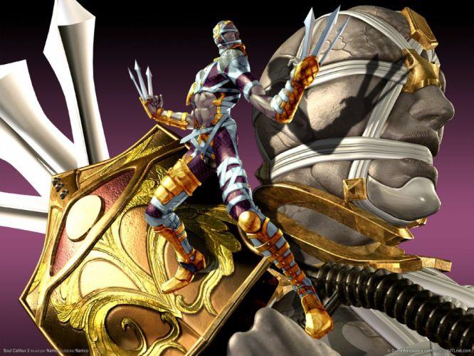 SOUL CALIBUR fantasy warrior game anime (81) wallpaper