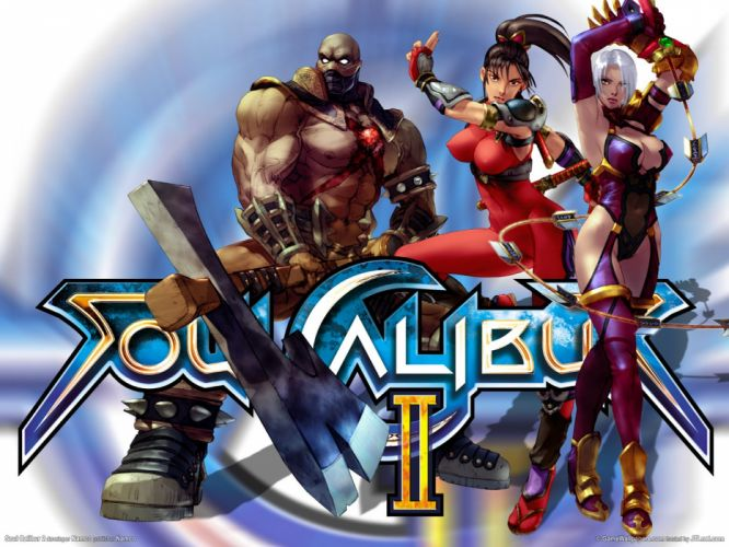 SOUL CALIBUR fantasy warrior game anime (79) wallpaper