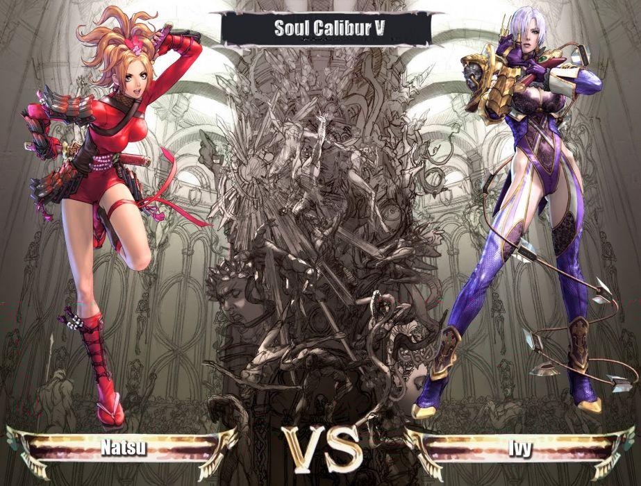 SOUL CALIBUR fantasy warrior game anime (11) wallpaper