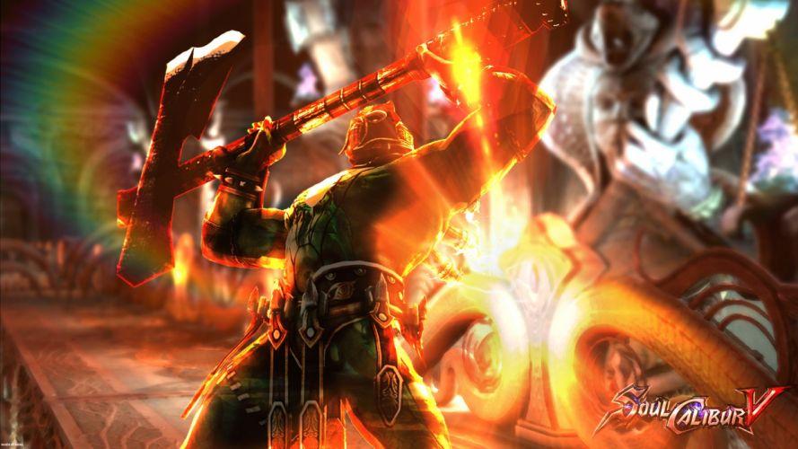 SOUL CALIBUR fantasy warrior game anime (17) wallpaper