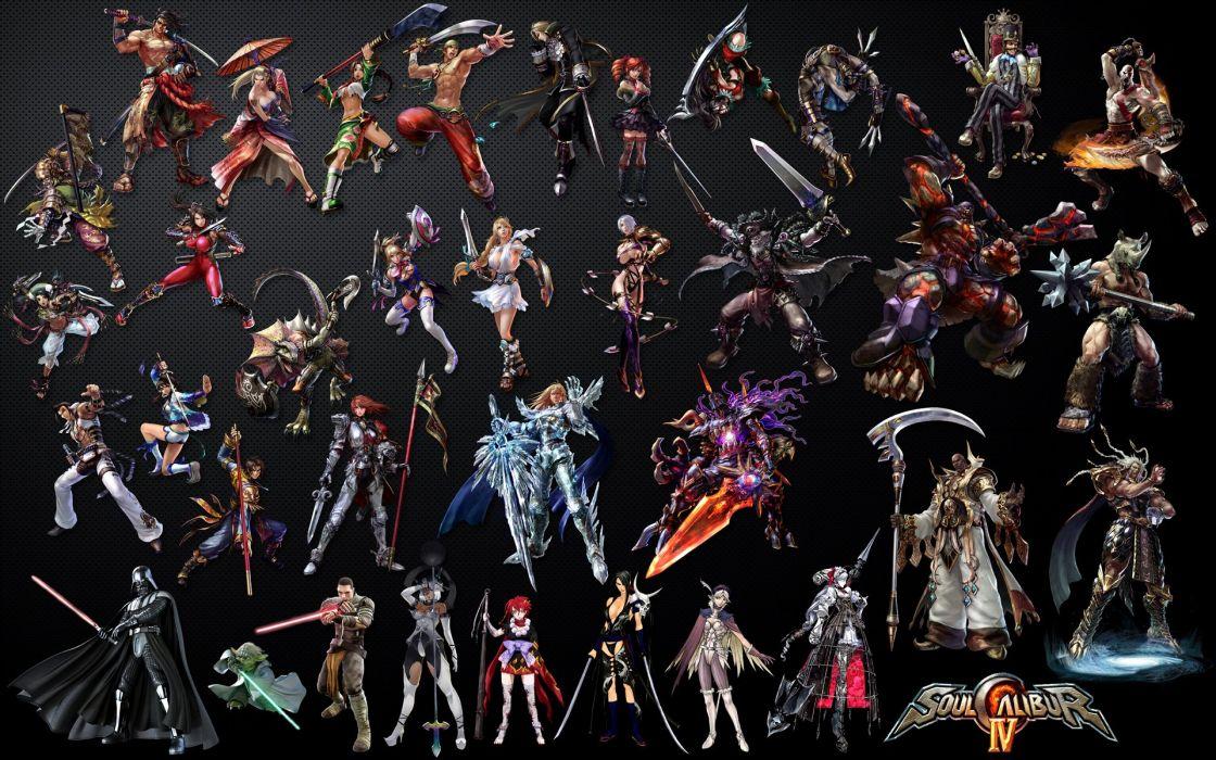 SOUL CALIBUR fantasy warrior game anime (23) wallpaper