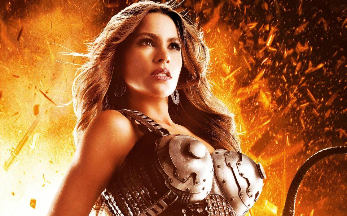 machete-kills sofia vergara blonde movie babe sexy 4000x2500 wallpaper