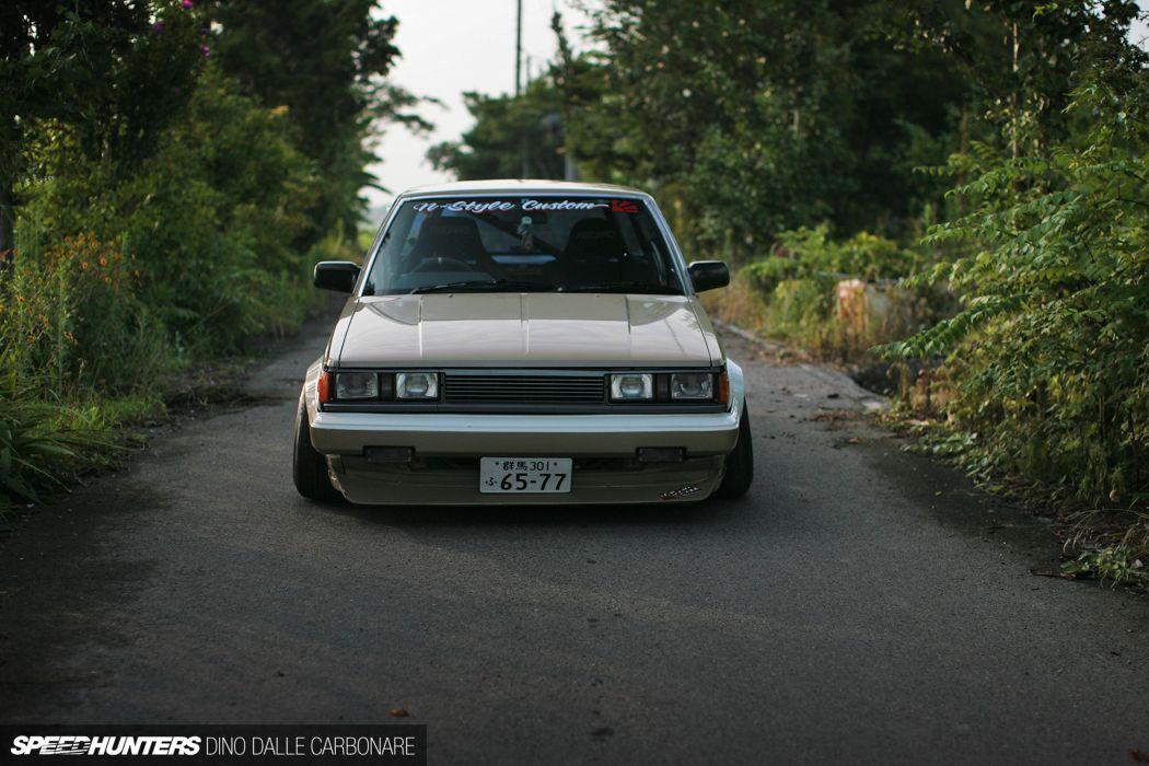 AA63 Carina japan N-Style tunning drift car Toyota front 4000x2667 wallpaper