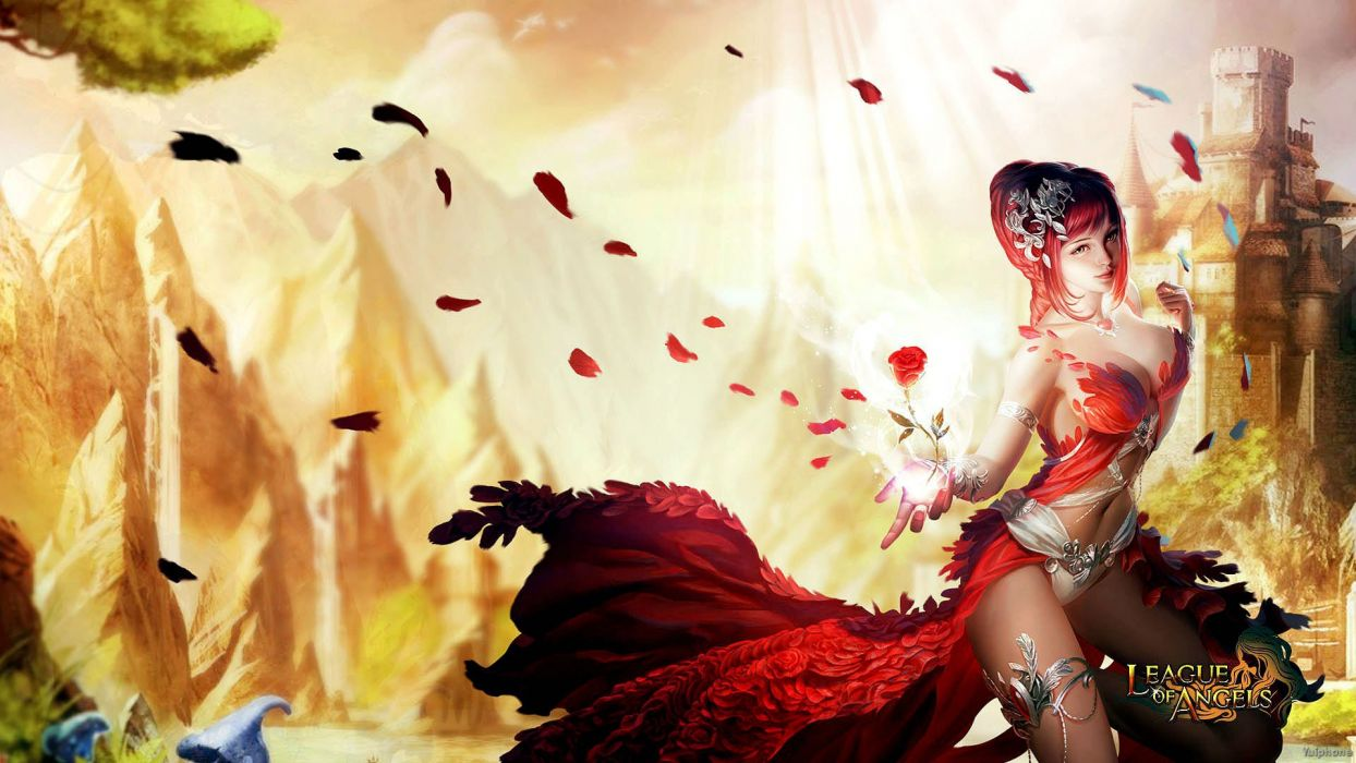 LEAGUE-OF-ANGELS fantasy angel warrior league angels game loa (1) wallpaper