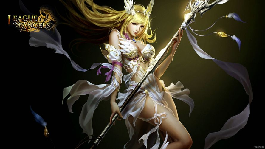 LEAGUE-OF-ANGELS fantasy angel warrior league angels game loa (2) wallpaper