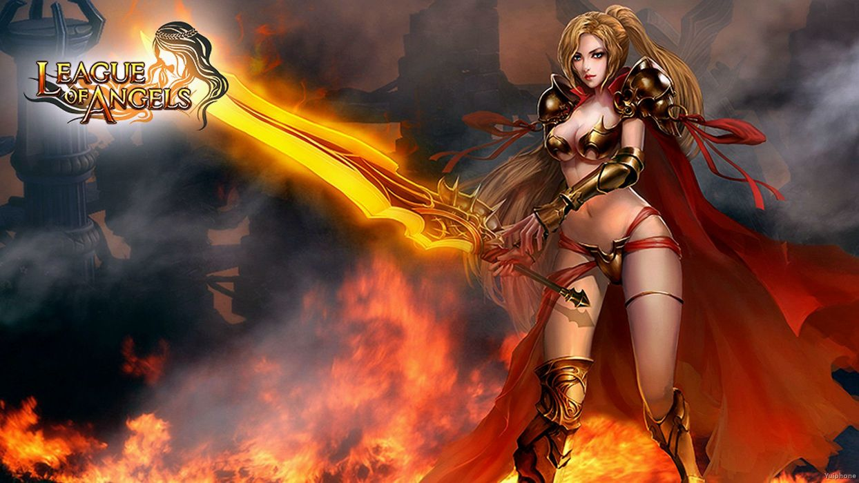 LEAGUE-OF-ANGELS fantasy angel warrior league angels game loa (21) wallpaper