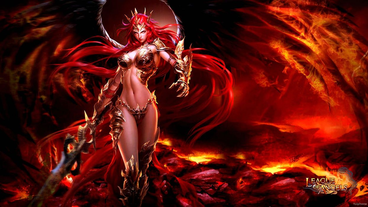 LEAGUE-OF-ANGELS fantasy angel warrior league angels game loa (23) wallpaper