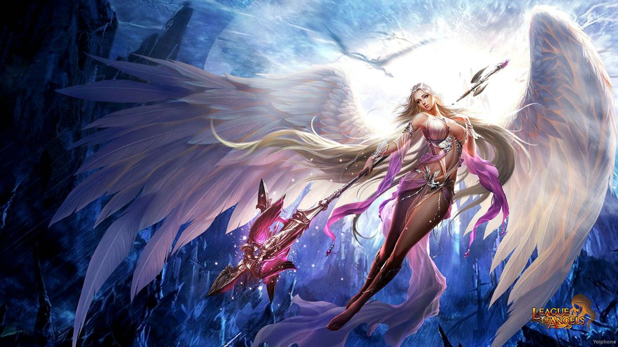 LEAGUE-OF-ANGELS fantasy angel warrior league angels game loa (22) wallpaper