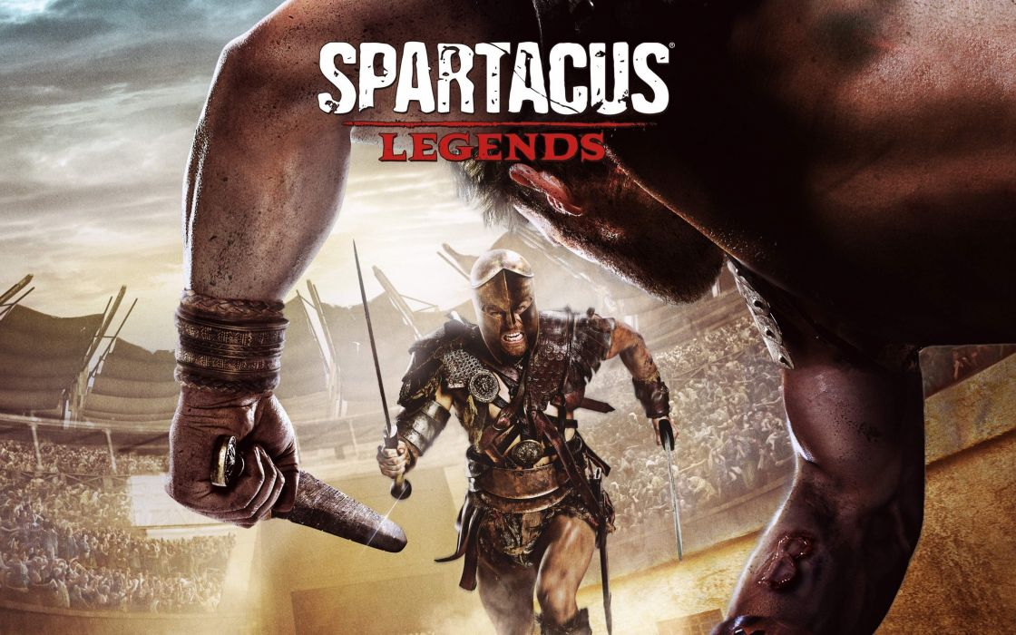 spartacus legends game gladiator 4000x2500 wallpaper