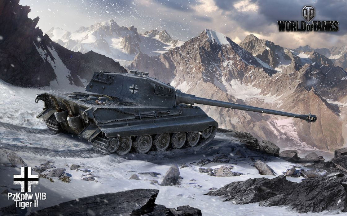 world-of-tanks king-tiger wwII GAME 4000x2500 wallpaper