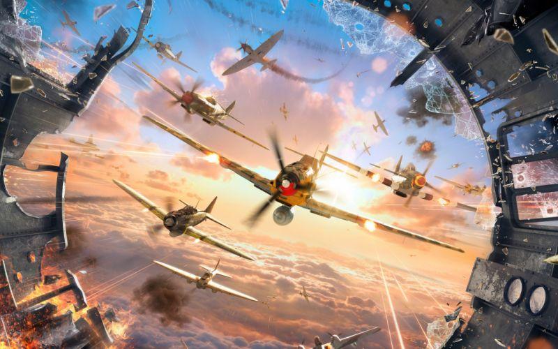 world-of-warplanes game war wwII 4000x2500 wallpaper