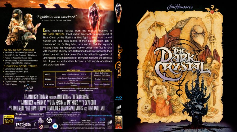 DARK-CRYSTAL fantasy adventure family cartoon movie film dark crystal (35) wallpaper